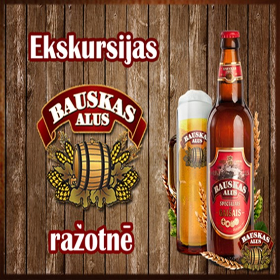Guided tour in Bauska Brewery