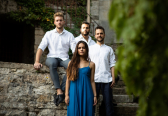 Spanish vocal ensemble CANTORÍA will perform in Bauska Castle