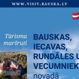 Travel routes in Bauska, Iecava, Rundale and Vecumnieki Municipalities