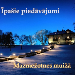 Special offers in Mazmezotne Mannor